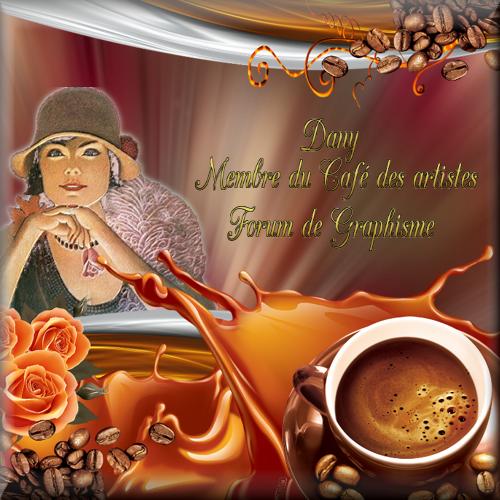 """Récompense """"Le Café des Artistes"""""""