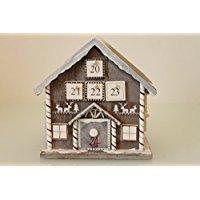 Calendrier de l'Avent en bois avec 24tiroirs?de Noël des thèmes - Gold House - moyen