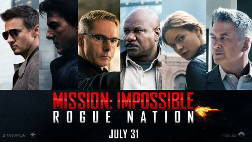 Mission Impossible Rogue Nation de Christopher McQuarrie