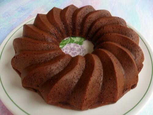 *** Gâteau au chocolat fondant sans beurre et sans oeufs ***