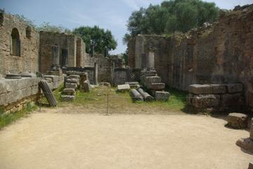 Olympie - Eglise Byzantine