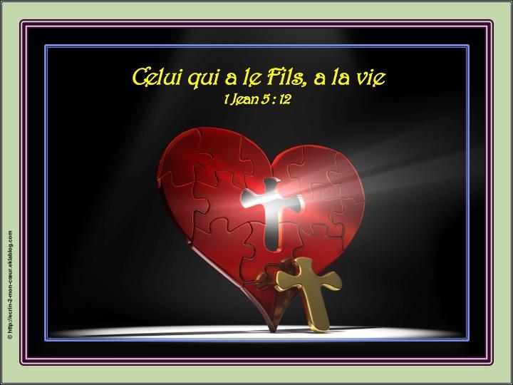 La vie en le Fils - 1 Jean 5 : 12