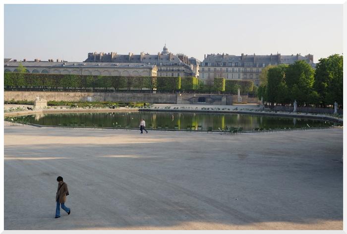 Paris - Jardin des Tuileries.