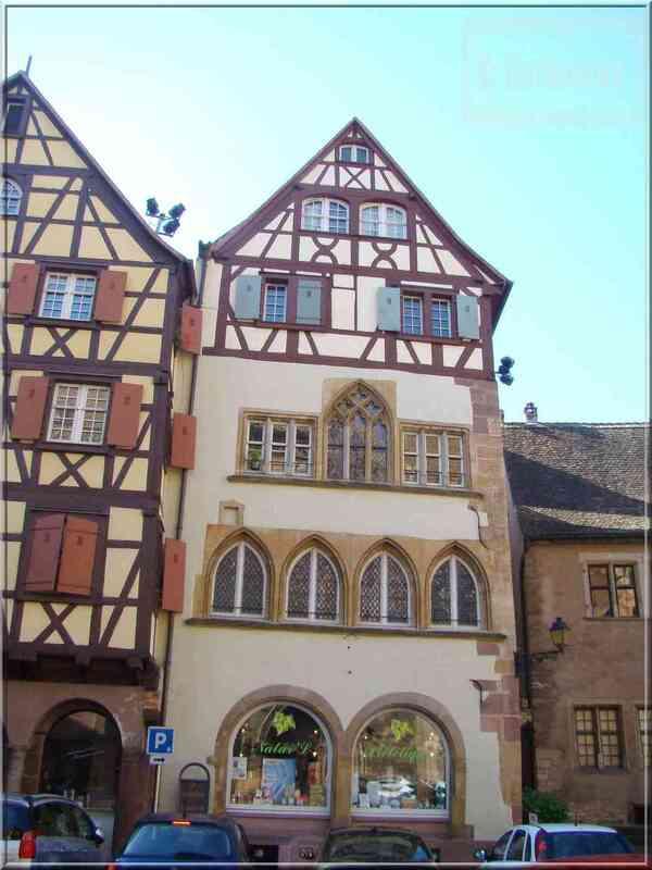 Alsace Haut-Rhin Colmar Maison Adolph