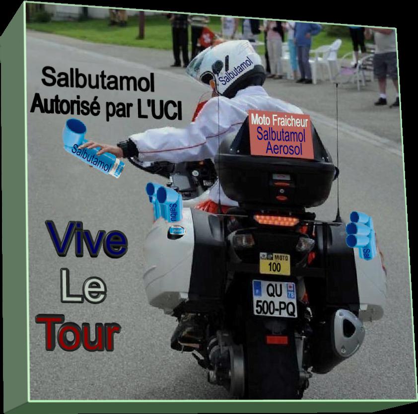 Moto Fraicheur..! Vive Le Tour (Humour bien sûr)