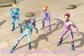 A Alfea, les Spécialistes affrontent l'armée des monstres de Mandragora