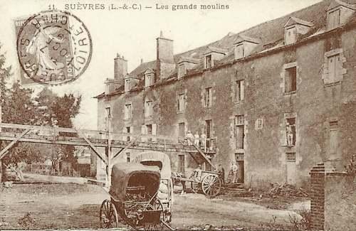 Les moulins de Suèvres