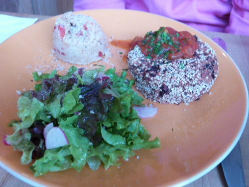 """Diner dans un Restaurant Végétarien """"Les Amants du Marché"""" à Pau"""