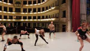 dance ballet class hall theatre hall