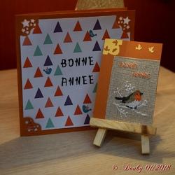 """ATC """"Bonne Année"""" (2)"""