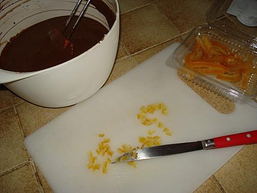 Mousse au Chocolat parfumée à l'Orange Confite 5