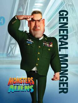 2009 -Monsters vs Aliens (Monstres contre Aliens)