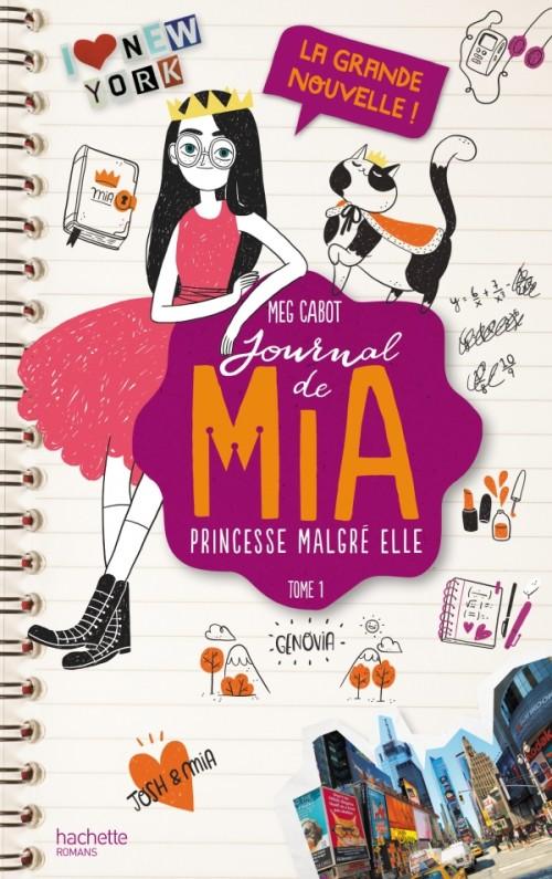 Journal de Mia (1/?) La grande nouvelle ! - Meg Cabot