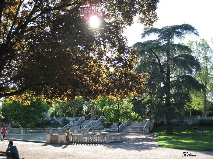 Jardin Darcy  Dijon