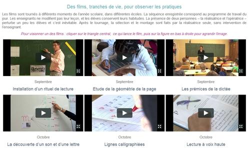 Pratiques pédagogiques (vidéos de classe)