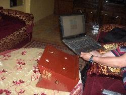 deuxième support pour ordinateur portable