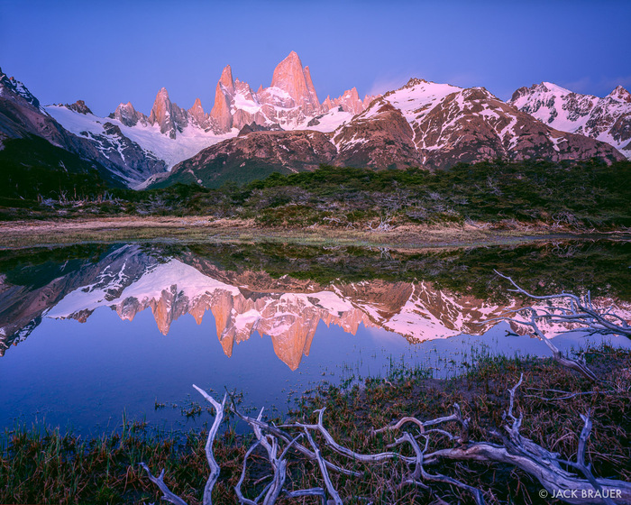 Le Mont Fitz Roy En Argentine -
