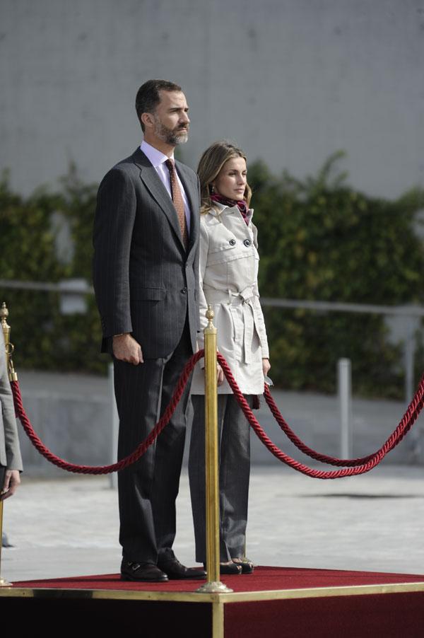 Felipe et Letizia au Panama