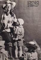 1972 : BLOUSE EN VICHY ROUGE...
