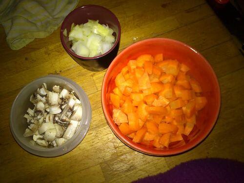 Riz aux petits légumes et miso