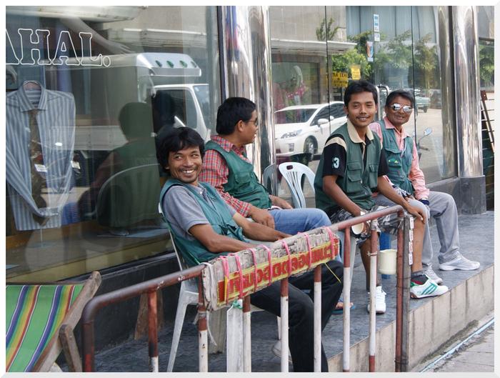 Transport en Thaïlande. Moto-Taxi