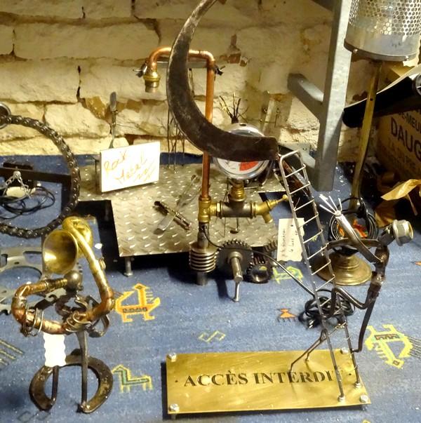 """De nouvelles oeuvres originales en métal, chez """"Création Nodoise"""""""