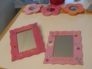 Miroirs Fée et fleurs - Prix