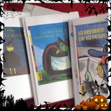 Rallye Halloween CE1 - Montage des livres + Liste des textes