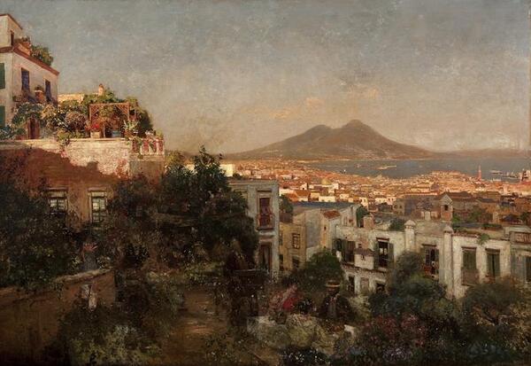 Peinture de : Heinrich Hermanns
