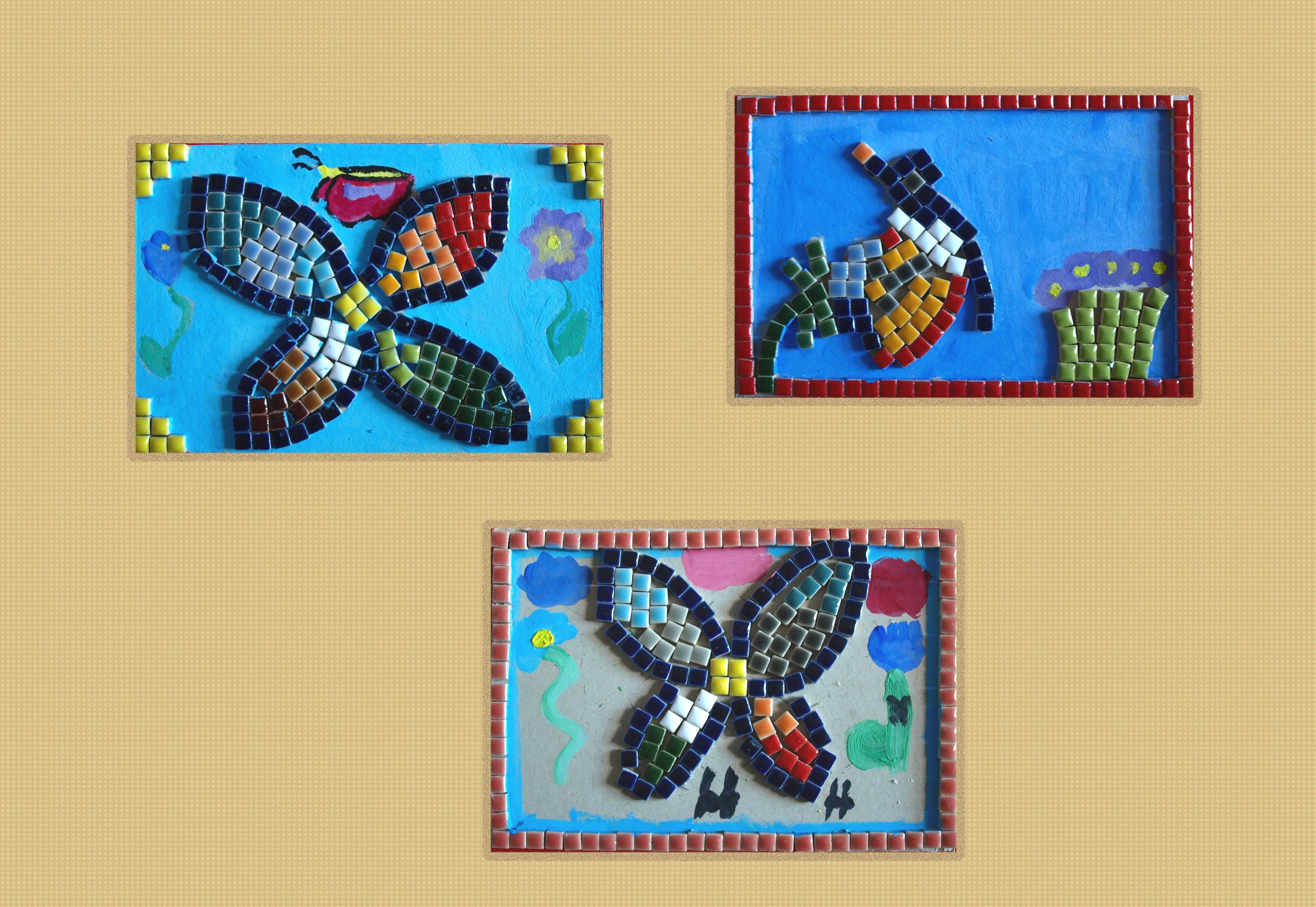 La mosa que romaine atelier d 39 arts plastiques pour enfants - Faire de la mosaique ...