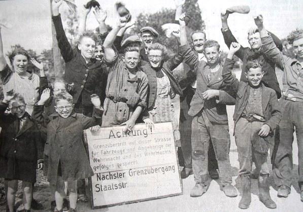 Photos de la libération de la Belgique (1).