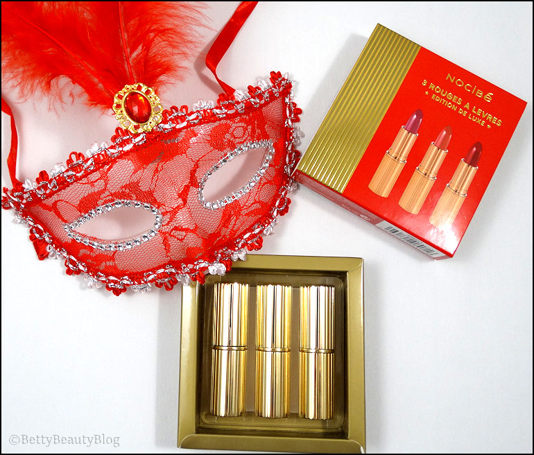 Le coffret de rouges à lèvres festif de Nocibé