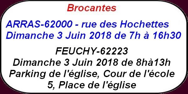 Portefaix à Dainville , ducasses et brocantes des 2 et 3 juin .