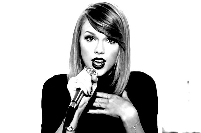 taylor swift noir et b... Taylor Swift Shake It Off