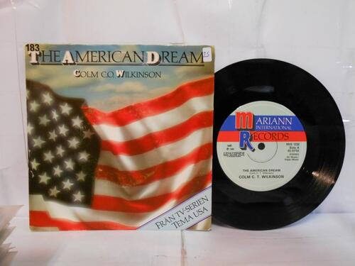 Vinyle Collector ... The American Dream - Mangerton 1980