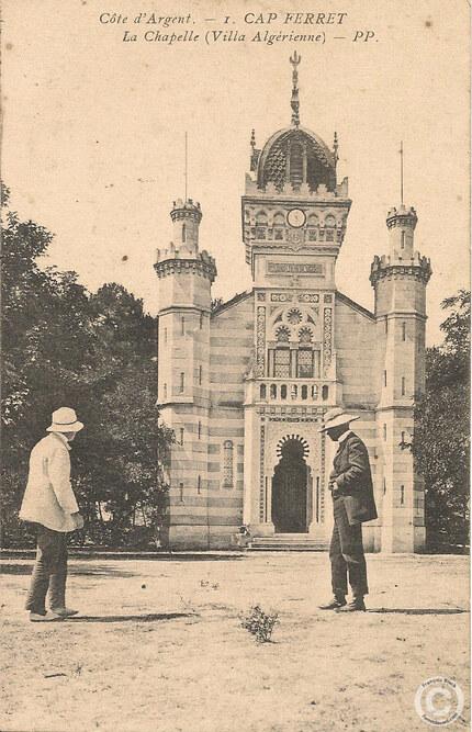 chapelle algérienne - carte postale ancienne