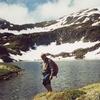 Passage près du lac d'Uzious 2115 m