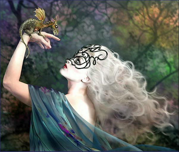 Tubes elfes et dragon