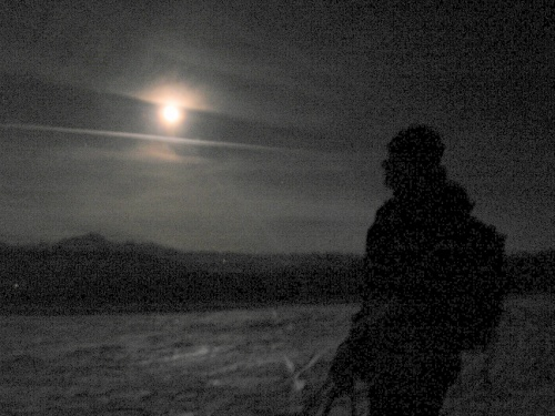 Semnoz ... à la pleine lune
