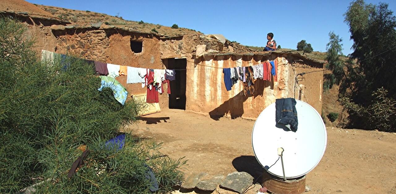 Maroc 8 / Tranches de vie dans le Ht Atlas (2)