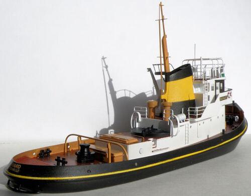 Le Bayard côté tribord