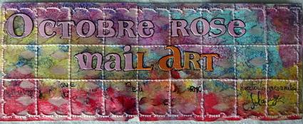 echange de mail art sur INCARTADES