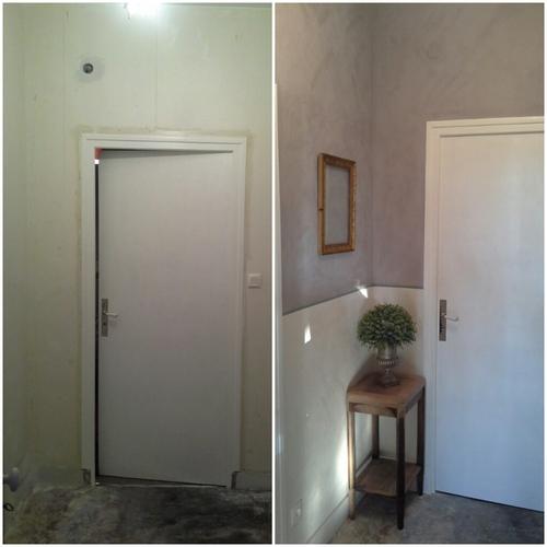 Avant/après : le couloir