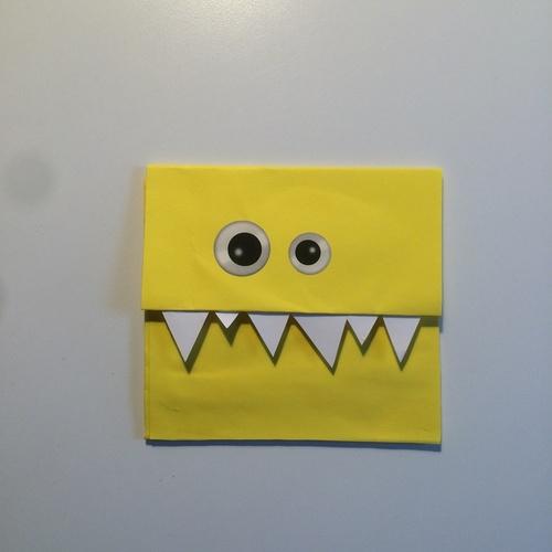 "Carte ""monstre gentil"""