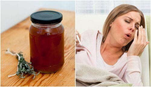 Comment préparer un sirop maison de thym et de réglisse pour soulager la toux