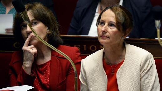 Ségolène Royal, ministre de l'Écologie et de l'Environnement