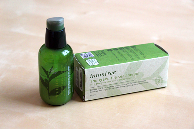 The green Tea Seed Sérum : on sérum Hydratant Innisfree...