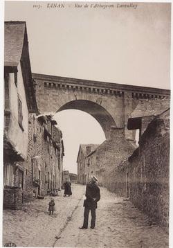 La rue de l'Abbaye