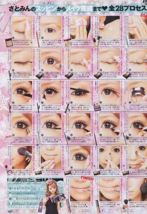 maquillages des lolita