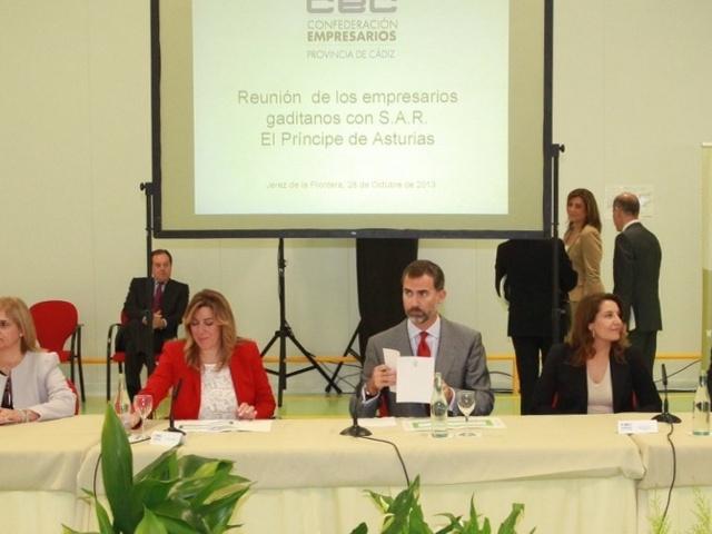 Felipe et les entrepreneurs